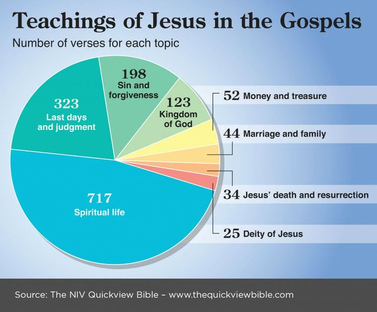 NIV QuickView Bible - Teachings of Jesus in the Gospels