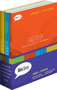Click to buy your copy of any of the 4 titles (Walk; Epic; Foundation; Context) in the Bible Savvy series in the Bible Gateway Store