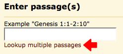 bible gateway search