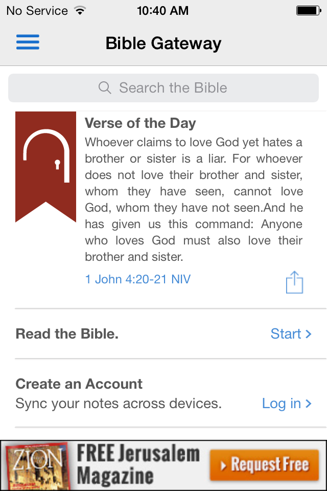 The Bible Gateway App Gets a New Look for iOS 7 - Bible Gateway Blog