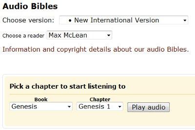 How To Listen to the Bible on Bible Gateway - Bible Gateway Blog