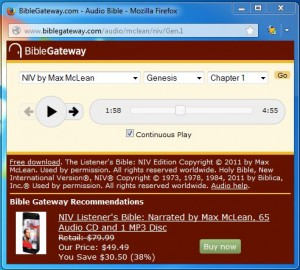 How To Listen to the Bible on Bible Gateway - Bible Gateway Blog
